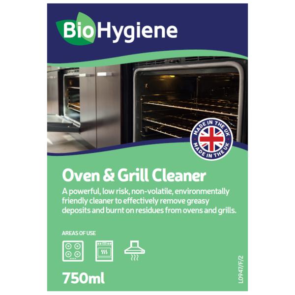 Picture of BioHygiene Oven & Hob Cleaner RTU 750ml - BH154