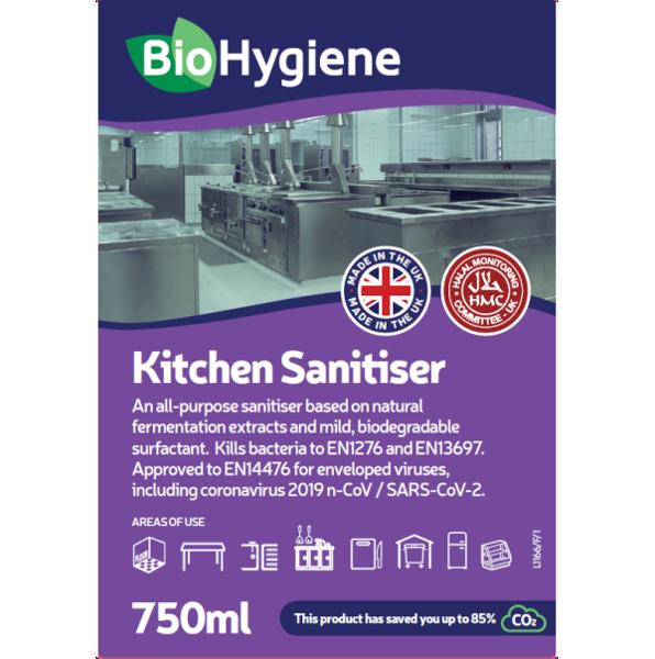 Picture of BioHygiene Kitchen Sanitiser RTU 750ml